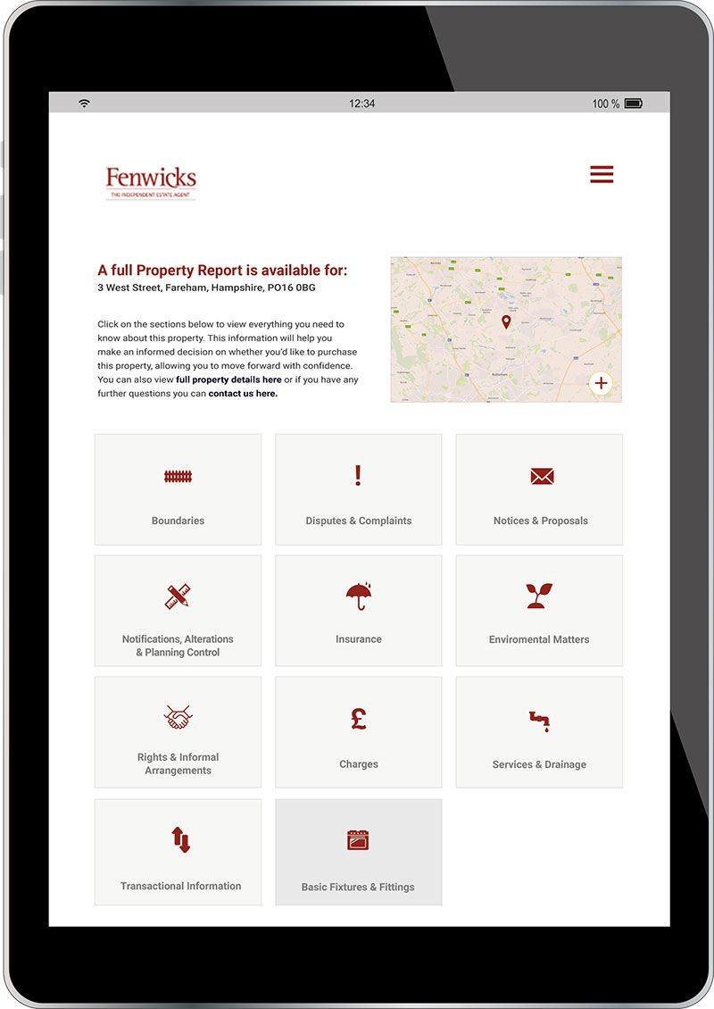 Conveyancing from Fenwicks Estate Agents